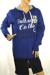 Indianapolis Colts Women's Blue Sweatshirt Hoodie Size S