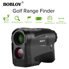 6x Golf Hunting Rangefinder Flag-Lock USB Rechargeable Speed Distance Meter New!