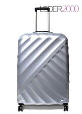 Titan Koffer Shooting Star 4 Rollen Trolley 66 cm M Silber Silver Reise leicht