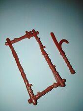 TMNT weapons rack Action figure Accessory VINTAGE TEENAGE MUTANT ninja TURTLE