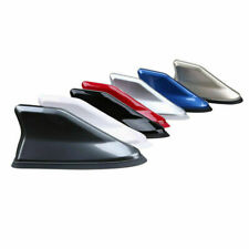 Car Auto Shark Fin Antenna Aerials AM/FM Radio Signal Silver Fit BMW Universal