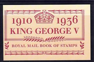 GB Prestige Booklet QEII 2010 DX50 (Centenary of Accession of King GV)