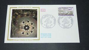 ENVELOPPE 1er JOUR 16-03 1974 FRANCE AEROPORT CHARLES DE GAULLE ROISSY