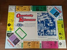1979 OPPORTUNITY KALAMAZOO Board Game COLLECTORS EDITIONVery good shape
