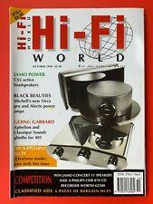 Hi-Fi WORLD Magazine - October 1998 - GARRARD 401 PLINTHS - CREEK CD 43 - JAMO
