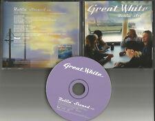 GREAT WHITE Rollin Stoned PROMO DJ CD Single 1999 USA MINT w/ PRINTED TOUR DATES