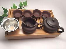 Gongfu Yixing Clay Tea Set 5oz Capacitywith Medium tea tray best seller