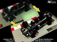 1/43 F1 Decal Additif Lotus 97T Senna John Player Special JPS altaya Ixo Spark