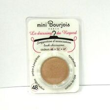 Bourjois mini Le Dressing du Regard Eyeshadow refill for pallets 48 0.05 oz