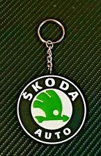 Skoda Logo Style Key Ring Octavia Fabia etc