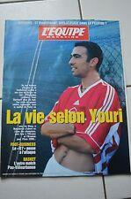 L'EQUIPE MAGAZINE N°879 1998 / VIRENQUE YOURI DJORKAEFF FABRICE GUY PAUL CAYARD