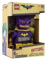 LEGO 9009334 Réveil Batgirl DC Comics Alarme Figurine Sonore Batman Movie Cadeau