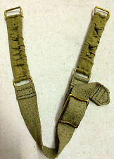 WWII British Army Brodie Helmet Chin Strap - Repro. LOT of 2