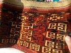 Very Rare Antique Tekke Turkoman Chuval Torba Ensi Ca 1875 Museum Worthy