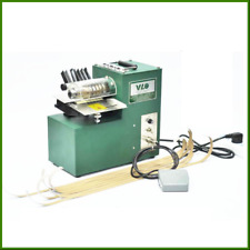New Leather slitting machine for shoe bags paper products cutting straight 220V