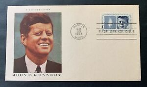 USA 🇺🇸 1964 J.F. Kennedy - cancelled FDC First Day cover - Michel No. 860