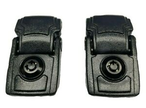 With Keys - Pelican Black (2) locking replacement latches for 1470 & 1490 case.