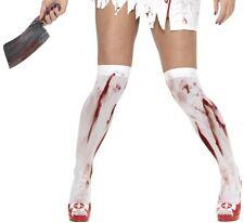 Halloween Sopra Il Ginocchio Autoreggenti Calze Costume Con Sangue #42755