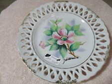 Collector Plates Flowers By Hitomi