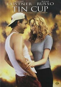 Brand New WS DVD Tin Cup (Keep Case) Kevin Costne Rene Russo Don Johnson