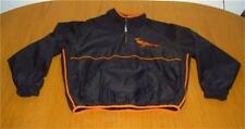 MLB BALTIMORE ORIOLES STITCHED BLACK MAJESTIC JACKET MENS SIZE M