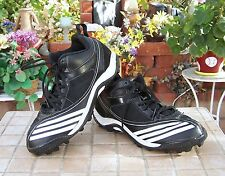 Adidas Scorch Blast Mens Football Cleats G09118 Blk/Wht Size 7