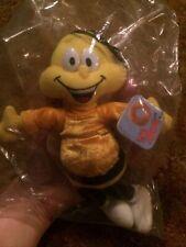 1998 General Mills Breakfast Pals Honey Nut Cheerios Bee Nip 8'' Plush Beanie