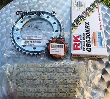 Silencieux RK X-Anneau Kit chaîne Honda CBR 900 RR,SC44,SC50,16-42-108,Fireblade