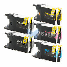 10 PACK LC71 LC75 Ink Cartridge for Brother MFC-J5910DW MFC-J625DW MFC-J6510DW