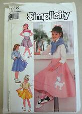 Simplicity Sewing Pattern 8487 Niño Y Niñas Nieve Blanca Disfraz Cosplay
