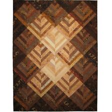 New  MONOCHROMIC STRIPPED QUILT Pattern  Make Any Size
