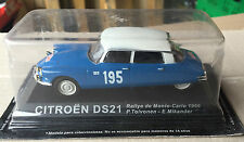 "DIE CAST "" CITREON DS21 RMC - 1966 P. TOIVONEN "" RALLY DEA SCALA 1/43"