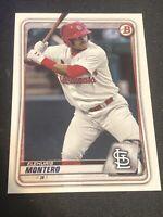 2020 Bowman Prospects Elehuris Montero #BP-32 St. Louis Cardinals