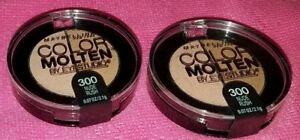 maybelline color molten by eye studio nude rush  lot of 2