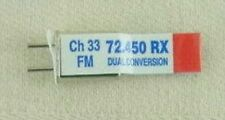 Airtronics DC 72Mhz  FM Receiver Crystal - CH33 72.450