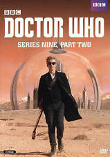 Doctor Who: Series Nine, Part Two (DVD, 2016, 2-Disc Set) VG%