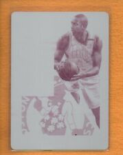 Al Horford 2018-19 Playoff Contenders Authentic Printing Magenta Plate 1/1