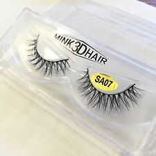 Hot Luxurious Mink Fur Eye Lashes Messy Medium Natural 3D False Eyelashes Makeup