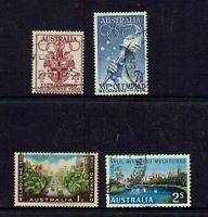 AUSTRALIA PRE-DECIMAL ...1956 OLYMPIC GAMES - MELBOURNE..SET OF 4
