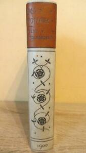 """1900 """"RED POTTAGE"""" MARY CHOLMONDELEY - AUTHOR INSCRIBED & SIGNED - SUPER BINDING"""