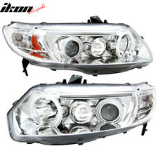 Fits 06-07 Civic 2Dr Dual CCFL Halo Projector Headlights