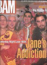 BAM BAY AREA MUSIC MAGAZINE #522 NOV. 21, 1997 (FN+) JANE'S ADDICTION