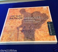 NEW SEALED Joby Talbot Path of Miracles Conspirare Craig Hella Johnson CD 2015