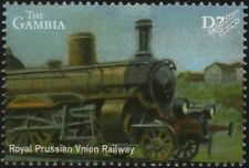 Royal Prussian Union Railway (Germany) Class P4 Steam Train Locomotive Stamp