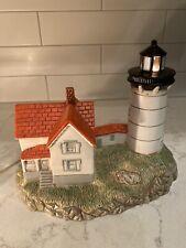 1995 Geo. Z. Lefton - 10106 - Cape Neddick Me - Lighthouse - 1879 - Used