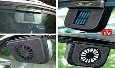 Solar Powered Vehicle Cooling Fan Car Window Air Ventilator Auto Vent Accessory