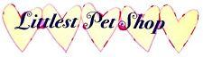 """8"""" LITTLEST PET SHOP BANNER HEART CHARACTER  FABRIC APPLIQUE  IRON ON"""