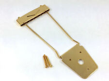 Gold Trapeze Tailpiece for Thick Hollowbody/Archtop/Jazz Guitar TP-0488-002