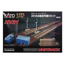 Kato 3-131 HV21 3 Lights Automatic Signal S Set - HO