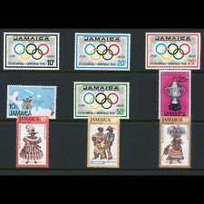 JAMAICA 1976 3 Sets Olympic Games, Cricket, Christmas. Mint Never Hinged (AT531)